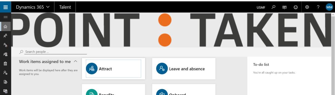 talent interface