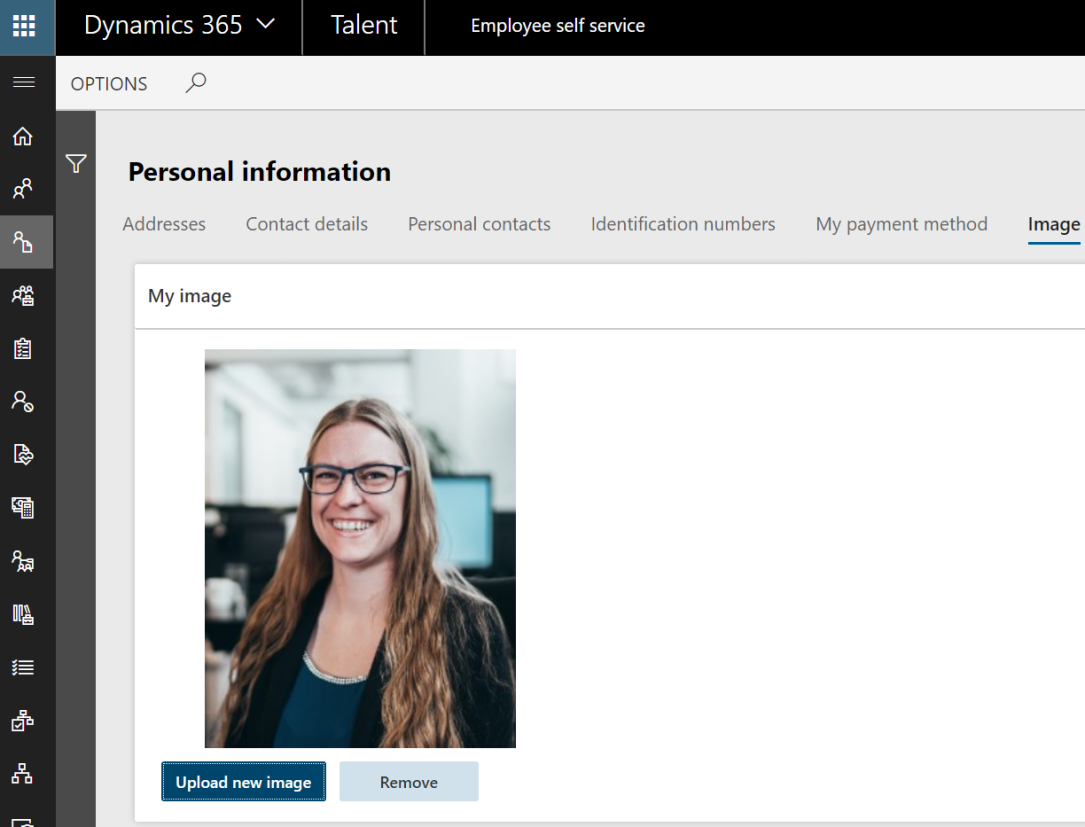 Personal information - Image