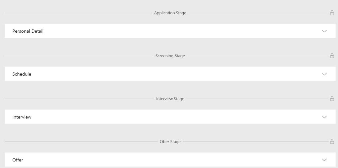 Job settings process default template