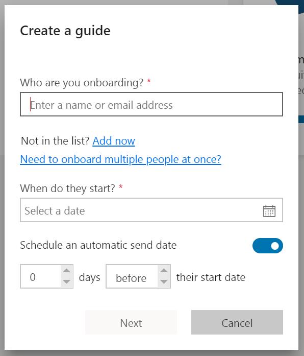 Create a guide