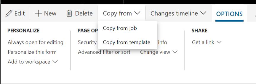 Copy job