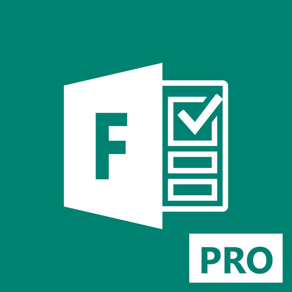 Logo Microsoft Forms Pro