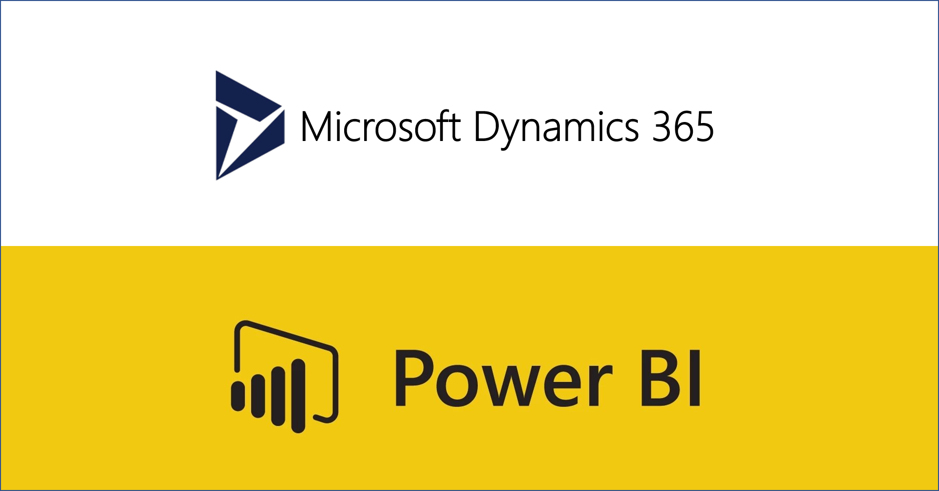 PowerBI and Dynamics 365 logo