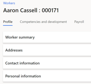 Picture of the workers profile